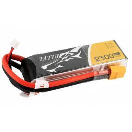 TATTU 2300mAh 11.1V 45C 3S1P Lipo Battery Pack