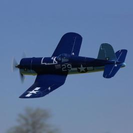 E-flite UMX F4U Corsair BNF, AS3X - Bind and fly! Добавете предавател и полетете!