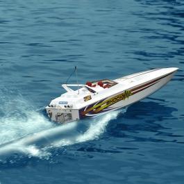 Pro Boat ShockWave 36 RTR Моторна лодка - в действие