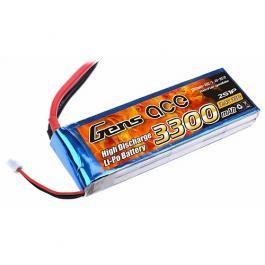 Gens ace 3300mAh 2S 7.4V 25C Li-Po батерия