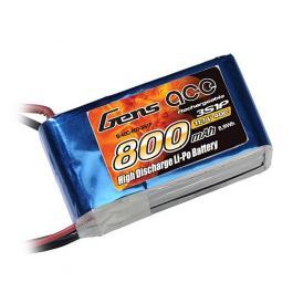 Gens ace 800mAh 3S 11.1V 45C Li-Po батерия