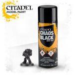 Спрей - грунд Chaos Black Spray