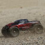 ECX 1/18 Ruckus 4WD Monster Truck RTR, черен