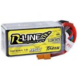 TATTU R-line FPV 1300mAh 4S 14.8V 95C Li-Po батерия